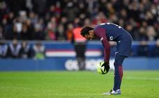 Neymar, una exhibición eclipsada por otra polémica con un penalti