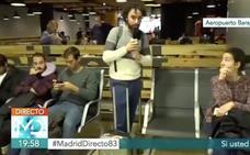 Roban la chaqueta de un reportero de Telemadrid en pleno directo