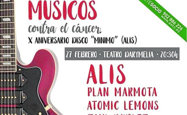 Alis reedita su disco 'Mínimo' y fija un concierto para el próximo 27 de febrero