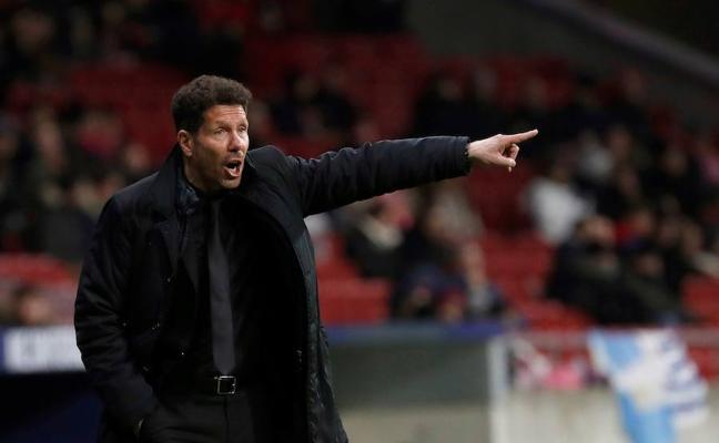 El Atlético, con la herida de la Copa, se mide al sorprendente Girona