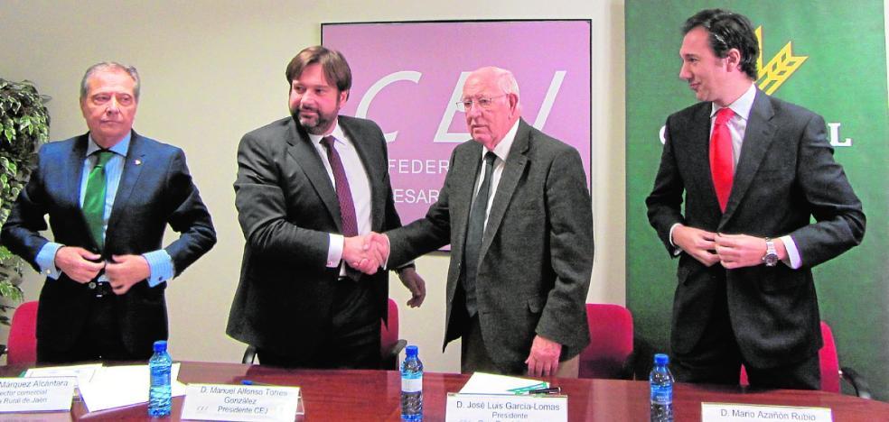 Caja Rural apoyará la actividad empresarial mediante un acuerdo