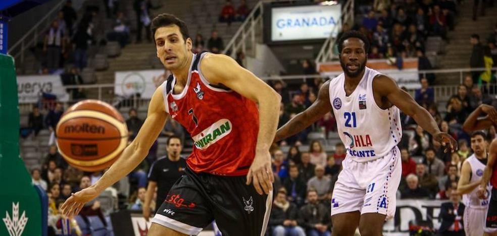 El Covirán Granada pierde ante el Alicante