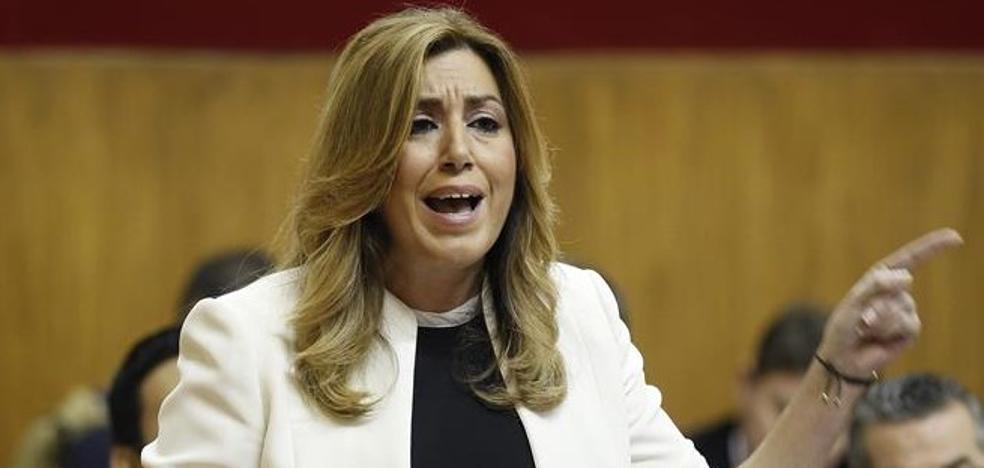 El 'zasca' de Susana Díaz a los que critican el acento andaluz por 'La Peste'