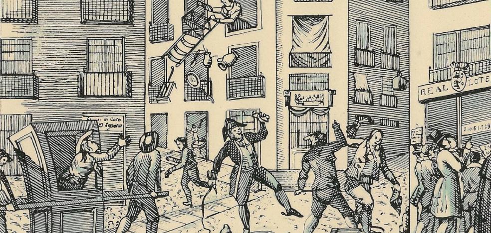 La proclamación de Carlos III, la casa por la ventana y Níjar