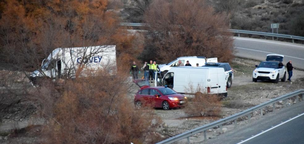 Una disputa entre narcos pudo causar el incidente de un furgón cargado de líquido inflamable en la A-92 en Granada