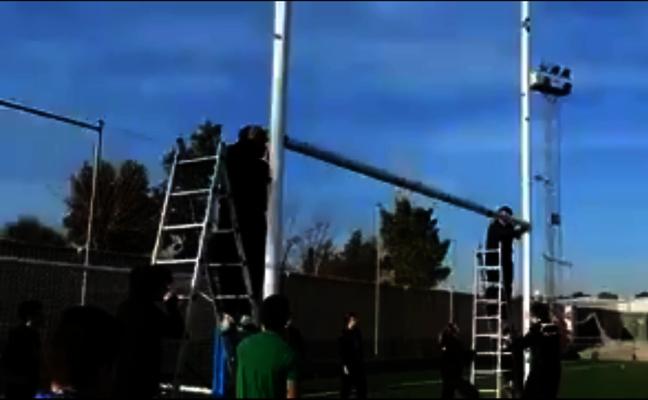 """Los """"peligrosos"""" trabajos que realizan los jugadores de rugby de Jaén para poder jugar"""