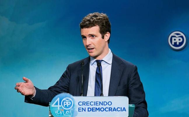 El PP advierte a Torrent de que comete una «ilegalidad flagrante» al proponer a Puigdemont