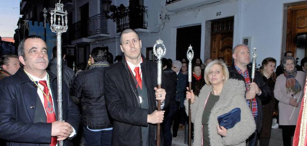 Catorce hermandades de Granada, Córdoba y Almería asisten a la procesión de San Sebastián en Lanjarón