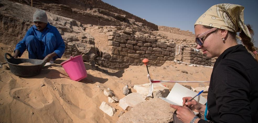 La UJA excavará en hasta cinco tumbas en la necrópolis de Asuán