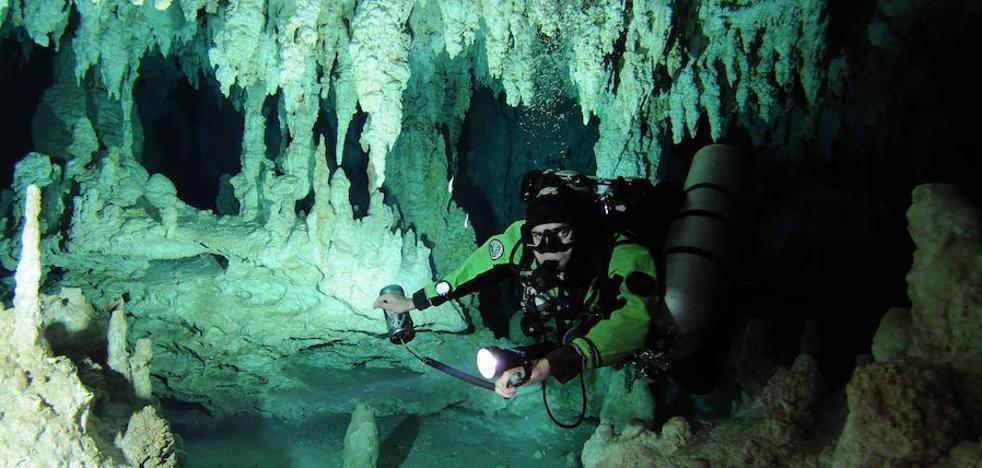 Un túnel del tiempo bajo el agua