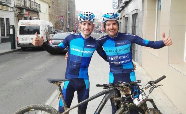 Podio para Manuel Beltrán y Víctor Manuel Fernández en la Val Serena Bike Race