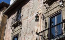 Los frescos de la Casa de Mitra están por los suelos