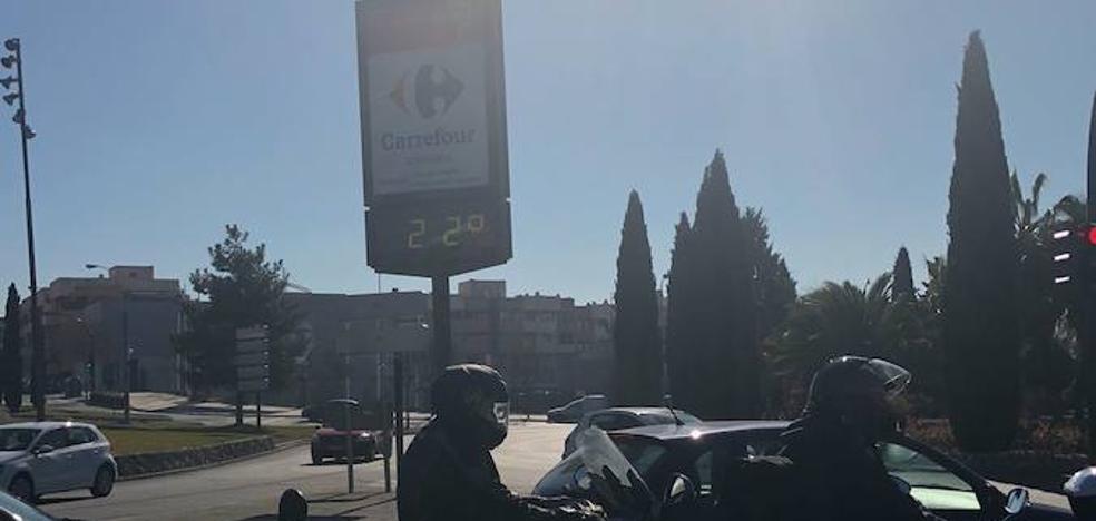¿Invierno en Granada? 22 grados a 23 de enero