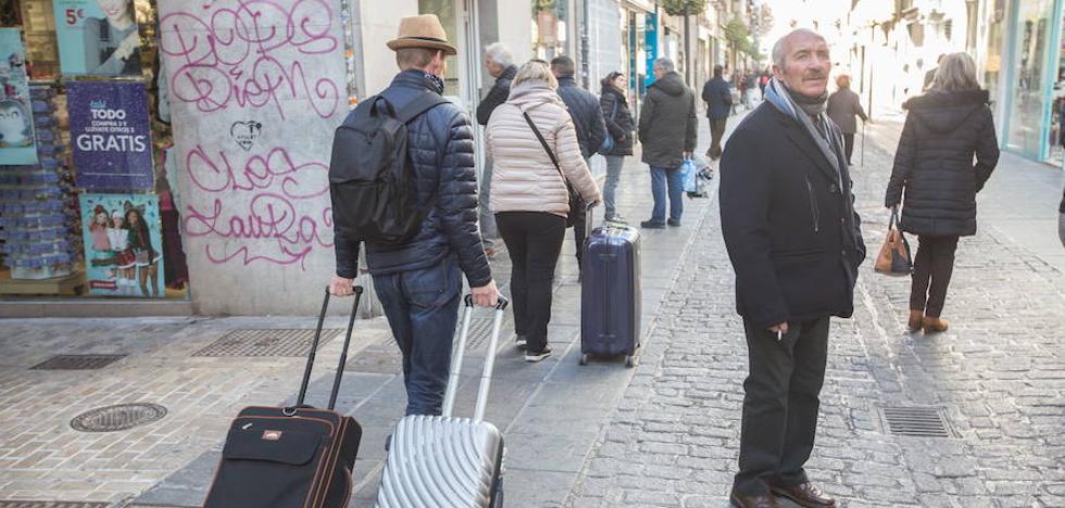 Granada cierra el año turístico con 80.900 pernoctaciones más