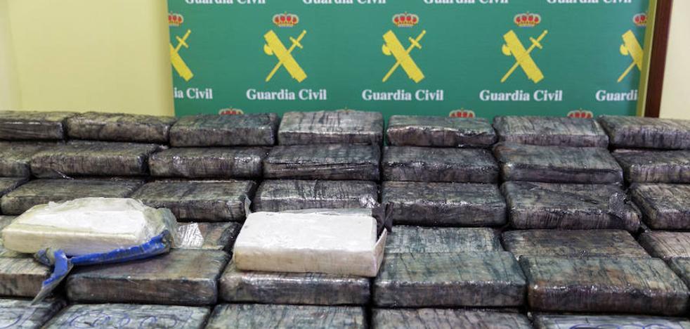 España incauta el 40% de la cocaína y el 70% del hachís de toda Europa