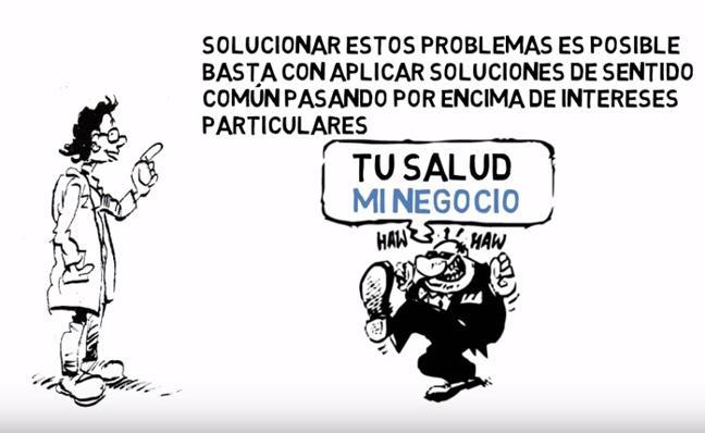 Marea Blanca Almería se suma a la jornada estatal de lucha contra las listas de espera