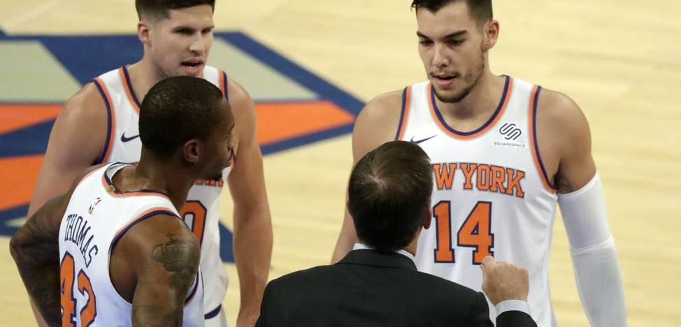 Willy Hernangómez brilla en la derrota de los Knicks