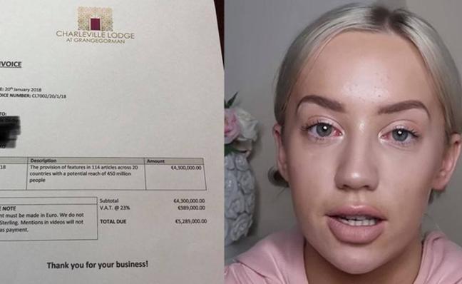 5 millones de euros: la factura de un hotel a una 'influencer' que quiso alojarse gratis