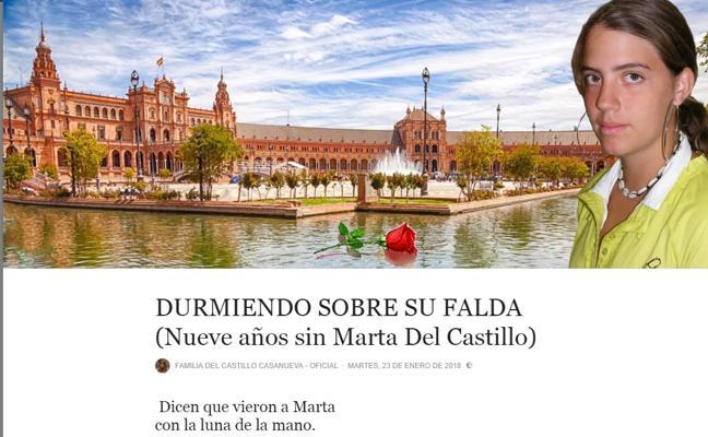 El emotivo poema a Marta del Castillo de un andaluz en el 9º aniversario de su desaparición