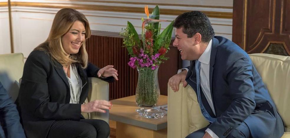 Susana Díaz y Picardo se alían para minimizar el 'Brexit' en Andalucía y Gibraltar