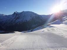 Un enero de nieve en Candanchú