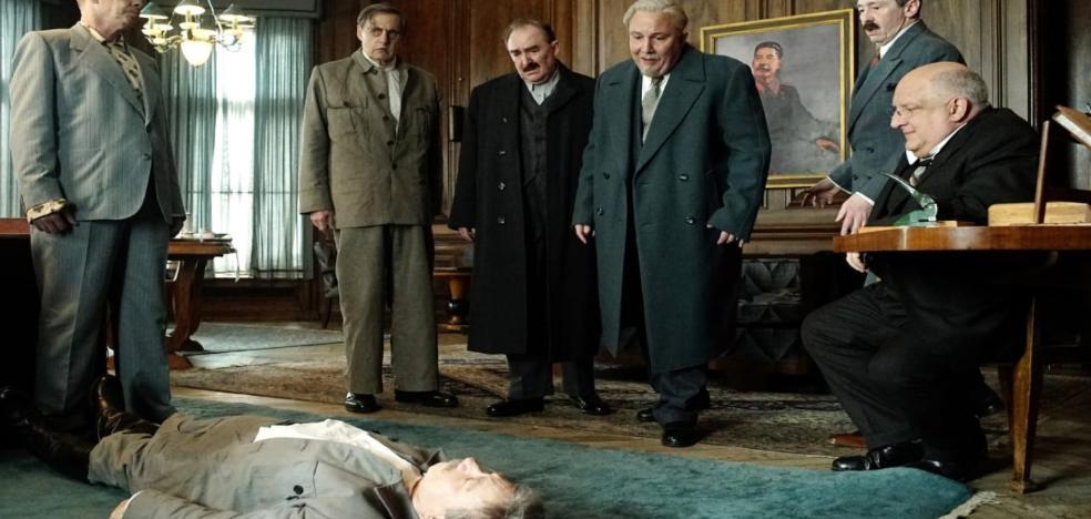 Prohíben la película que parodia a Stalin