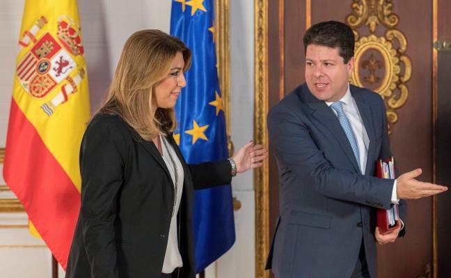 Susana Díaz y Picardo se alían para minimizar los efectos del Brexit en Gibraltar y Andalucía