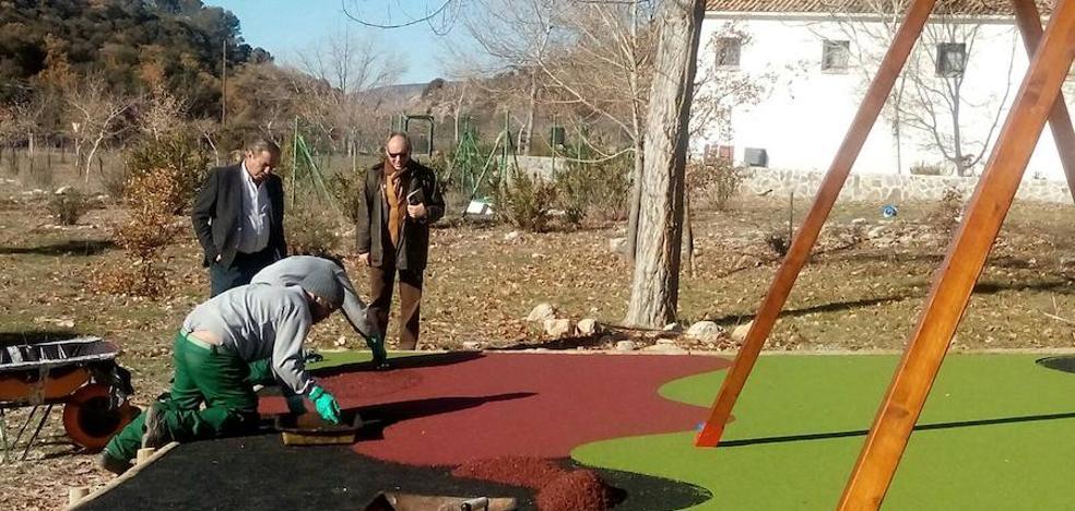 Renovada el área recreativa de El Peralejo del Centro de Visitantes Matabejid en Sierra Mágina