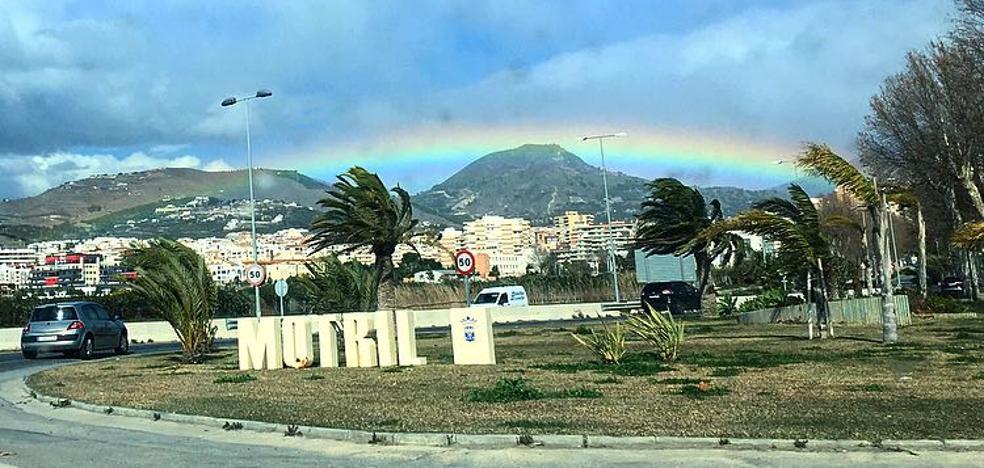 Un temporal azota la Costa de Granada