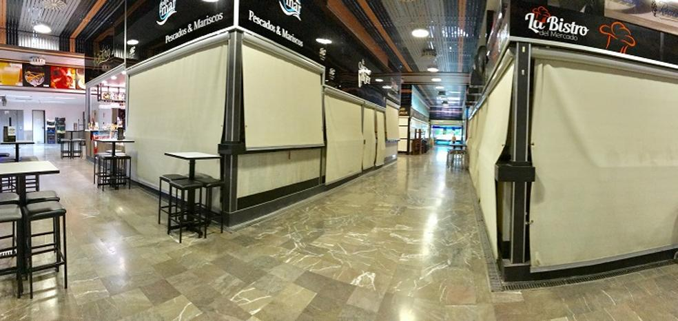 El Ayuntamiento oferta ocho puestos del mercado de San Agustín para intentar reflotarlo