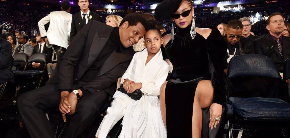 La hija de Beyoncé y Jay Z, viral tras pedir calma a sus padres en mitad de los Grammy