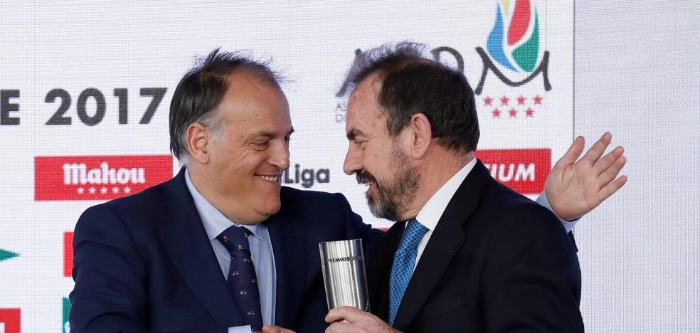 Tebas: «Me gustaría que Neymar volviese al fútbol español»