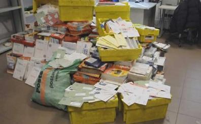 573 kilos de cartas en casa del cartero que no hacía el reparto desde 2010