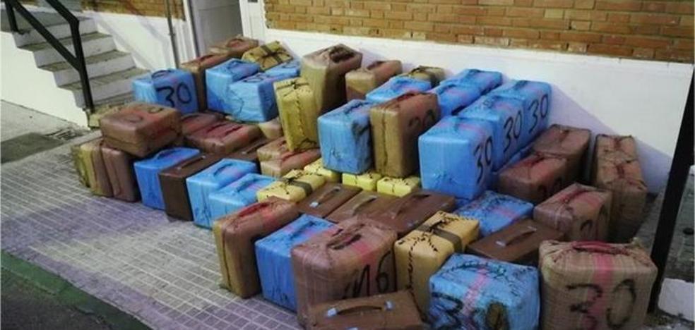 Operación 'Mapuche': incautados 4.530 kilos de hachís en Andalucía