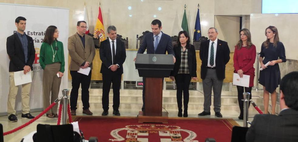 El rector de la UAL, la directora del PITA o el almeriense de la NASA, entre los coordinadores del Plan Estratégico de Almería