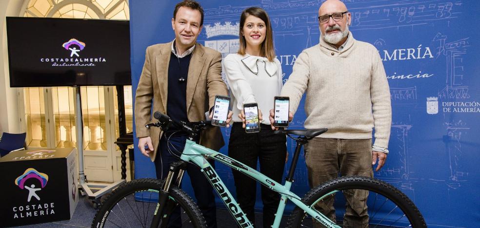 Diputación propone 30 rutas a través de la App 'Almería en Bici'