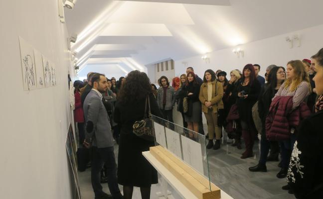 'A la calle' muestra la expresión plástica del futuro a través del trabajo de 150 alumnos de Bellas Artes