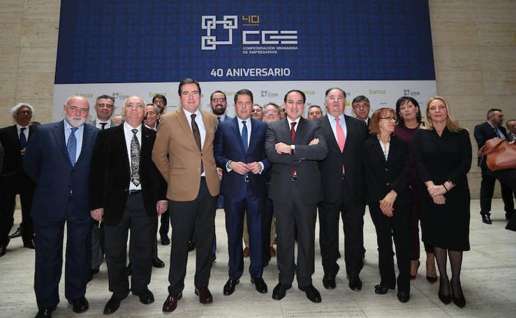 40 años de empresarios en Granada