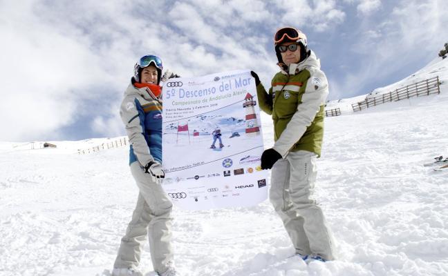 Sierra Nevada acoge el único descenso infantil del calendario
