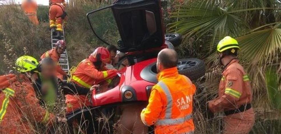 Rescatan de un accidente a la abuela de Valencia que se sacó el carnet a los 84 años