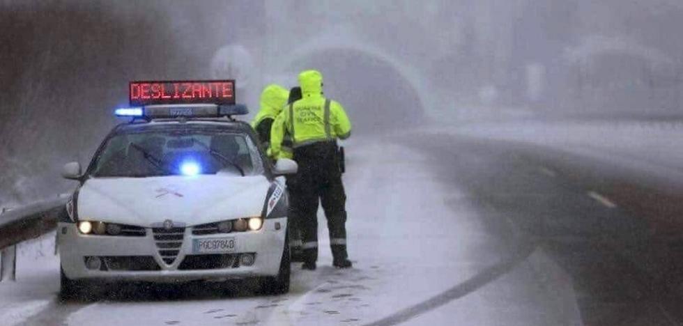 Previsto un domingo complicado por la nieve en Jaén