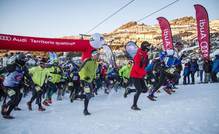 El Campeonato de España de Snow Running, en imágenes