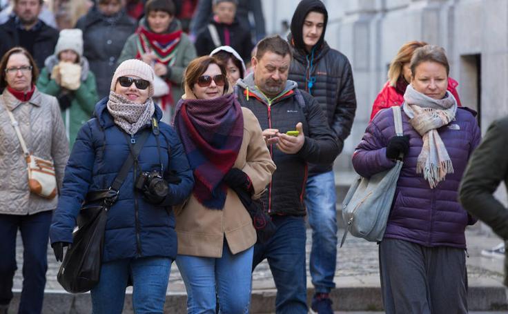 El frío se apodera de Granada