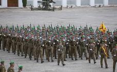 Treinta años de presencia militar en Granada