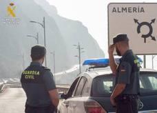 Fallece la mujer que fue auxiliada por la Guardia Civil en El Cañarete
