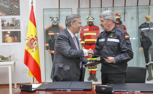 La UME y Red Eléctrica Española firman un nuevo convenio de colaboración
