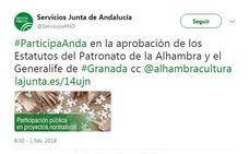 La Alhambra abre una reforma exprés de sus estatutos para adaptarse a una agencia pública
