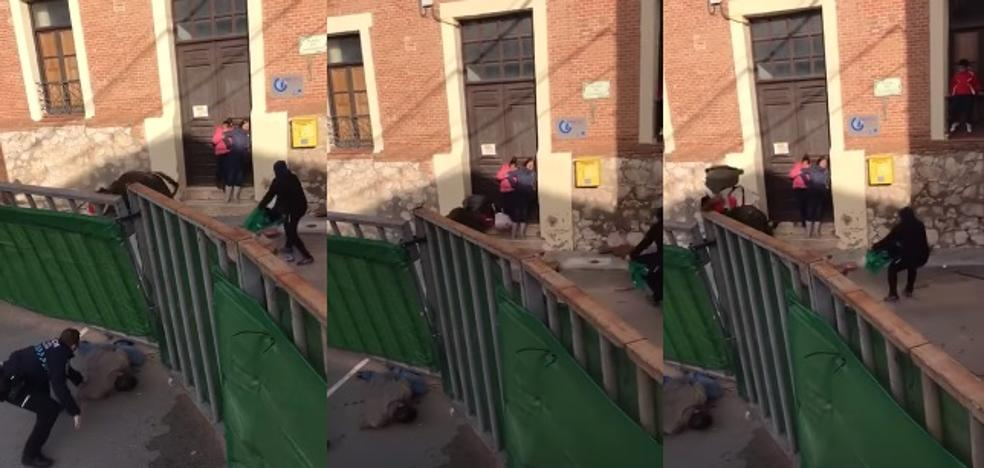 El impactante vídeo de toro volteando un carrito de bebé en un encierro