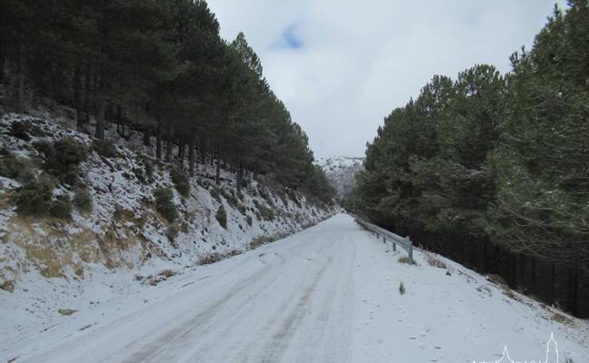 Obligatorio el uso de cadenas en varias carreteras de la provincia de Jaén