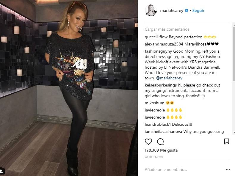 Las fotos del cambio físico de Mariah Carey